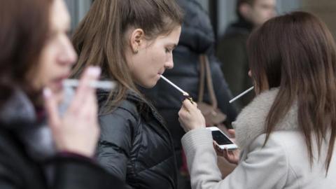 People Opting Smoking