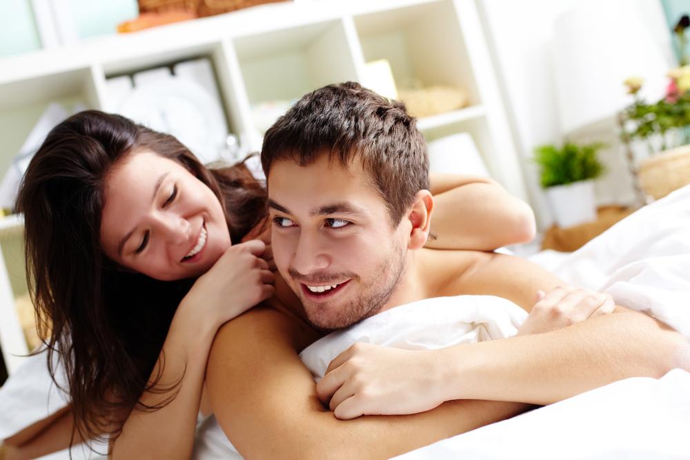 enjoying sex