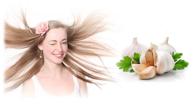 garlic for hair