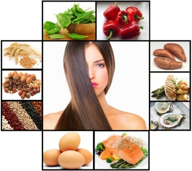 Nutrition for healthy hair